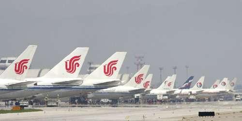 图:客巴对中国航空业所做预测,指飞机数量已达全球第二位.