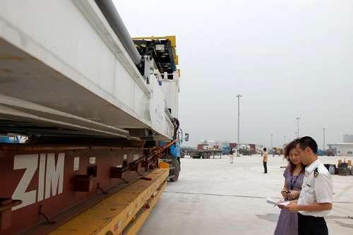 联邦快递公司广州代表处从白云机场进口的6台「空运
