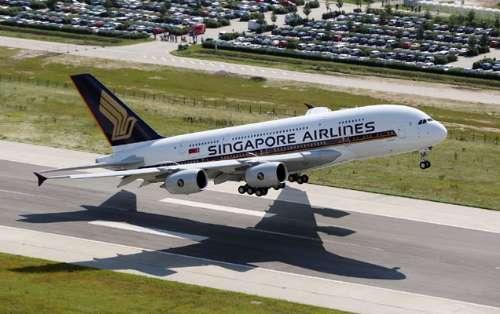图:新航A380型飞机开办经由香港出发经新加坡至伦敦航线-新航A380
